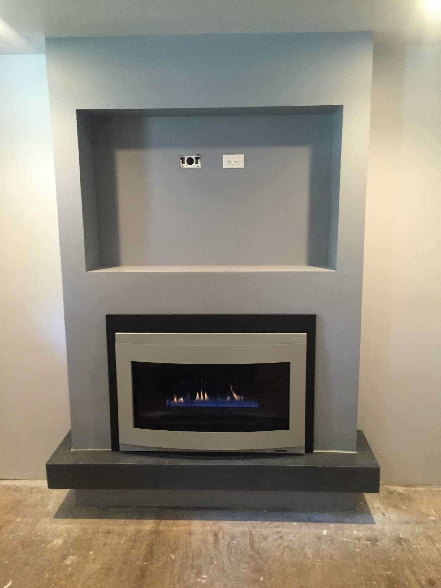 latest designed gas fire