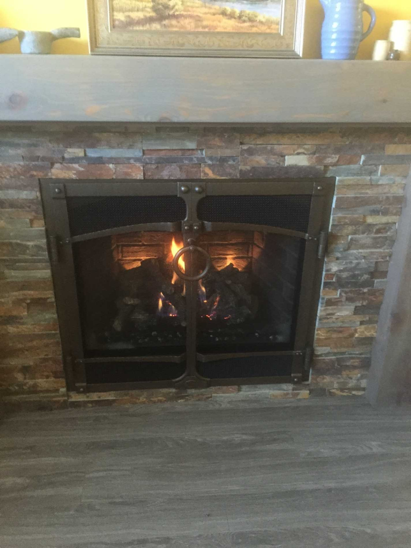 gas fire tube